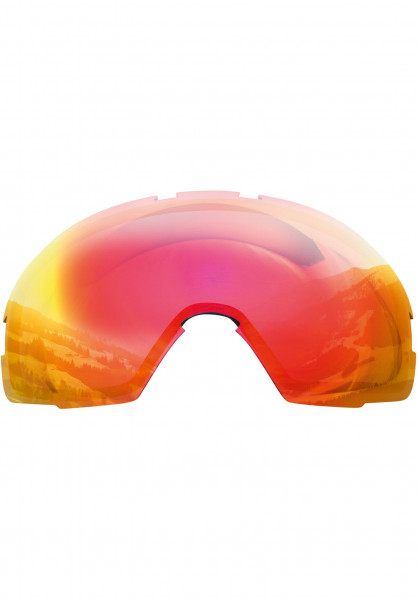 TSG Snowboard-Brille Replacement Lens Goggle One red-chrome Vorderansicht