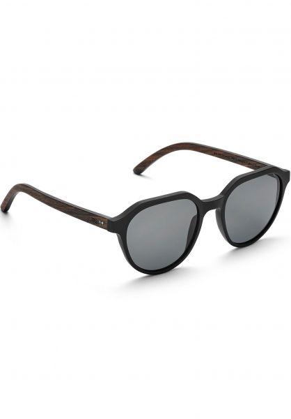 TAS Take a Shot Sonnenbrillen Ferguson walnut-grey-blackmatt vorderansicht 0590574