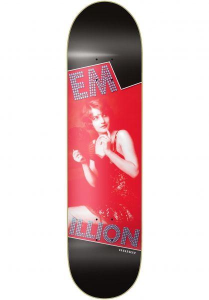 EMillion Skateboard Decks Burlesque black-red vorderansicht 0261252