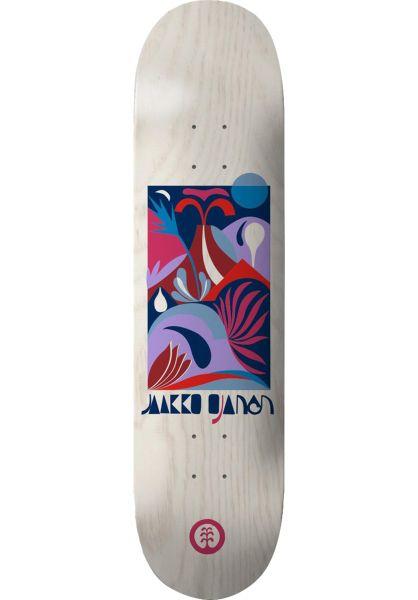 Element Skateboard Decks Jaako Lagunak white vorderansicht 0263336