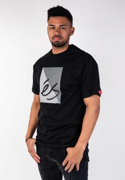 ES T-Shirts Split Block black vorderansicht 0399881
