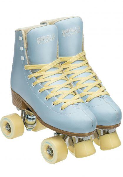 Impala Alle Schuhe Quad Rollschuhe / Rollerskates skyblue-yellow vorderansicht 0292000