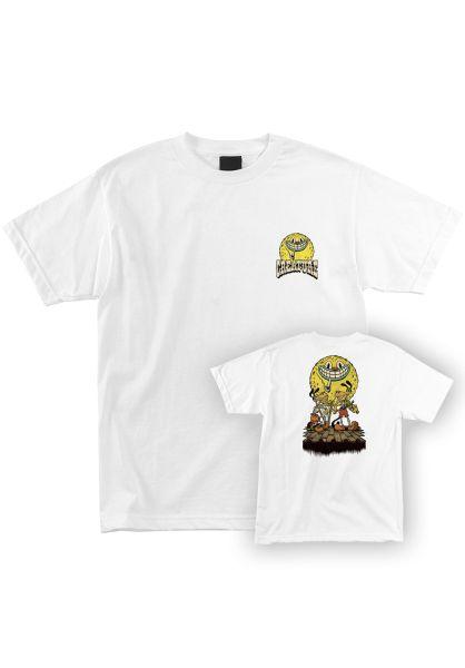 Creature T-Shirts Festival white vorderansicht 0321723