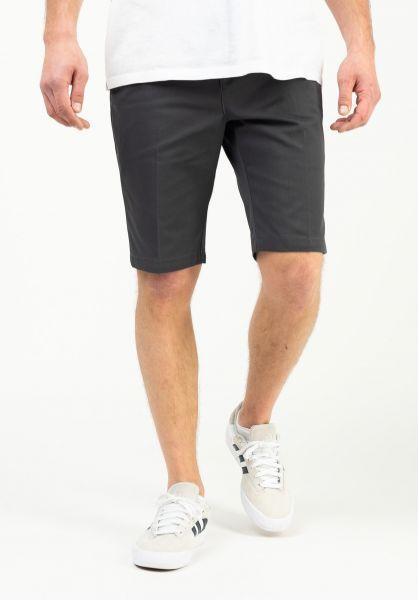Dickies Chinoshorts Slim Fit Short charcoal vorderansicht 0281059