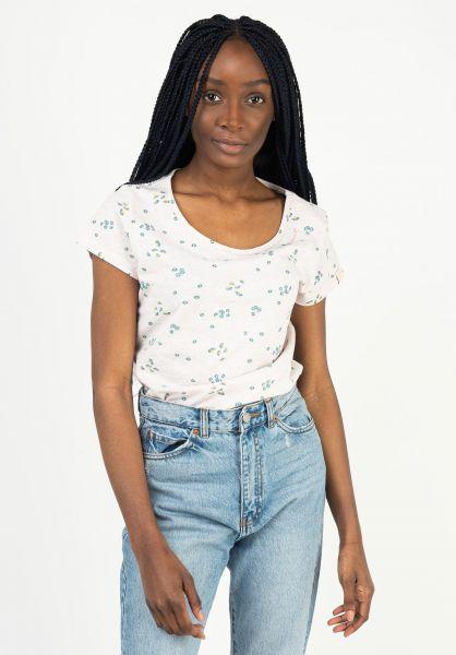 Ragwear T-Shirts Mint Camomile beige 121 vorderansicht 0323000