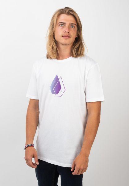 Volcom T-Shirts Disclose white vorderansicht 0320381