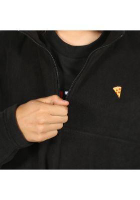 Pizza Skateboards Emoji 1/4 Zip Fleece