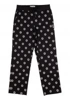 welcome-chinos-und-stoffhosen-tali-dot-all-over-print-elastic-pant-black-white-vorderansicht-0204137