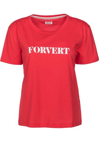 Forvert T-Shirts Dodo red Vorderansicht