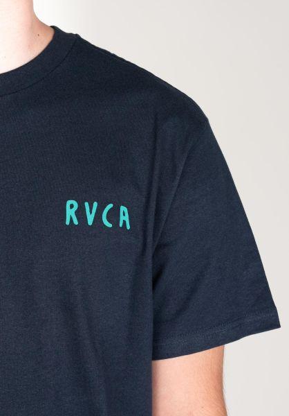 RVCA T-Shirts SB Tarot moodyblue closeup1 0322462