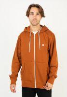element-zip-hoodies-cornell-glazedginger-white-vorderansicht-0454129