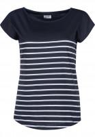 Forvert-T-Shirts-Newport-navy-white-Vorderansicht