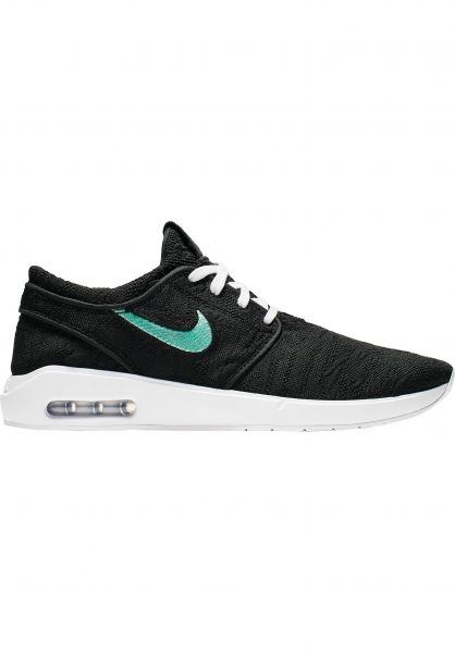 Nike SB Alle Schuhe Air Max Janoski 2 black-mint-black vorderansicht 0604585
