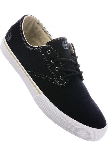 etnies Alle Schuhe Jameson Vulc LS black-white-grey Vorderansicht