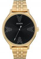 Nixon Uhren The Clique gold-black-silver vorderansicht 0810379