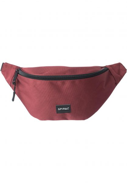 Spiral Hip-Bags Core Bum Bag burgundy Vorderansicht