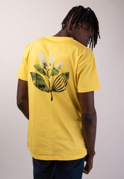 Magenta T-Shirts Jungle 2 yellow vorderansicht 0320207