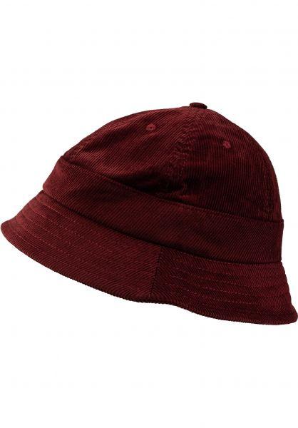 Magenta Hüte Plant Bucket Hat burgundy vorderansicht 0580416