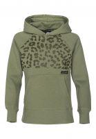 Nike SB Hoodies PO Icon AOP Kids palmgreen-black Vorderansicht
