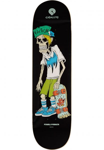 Powell-Peralta Skateboard Decks Caballero Faction Popsicle black vorderansicht 0265924