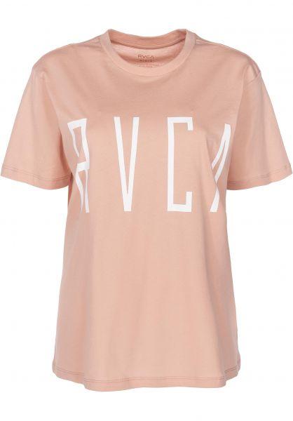 RVCA T-Shirts Stilt Tee nude vorderansicht 0398942