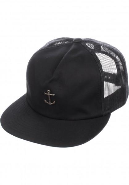Dark Seas Caps Bottomry black Vorderansicht