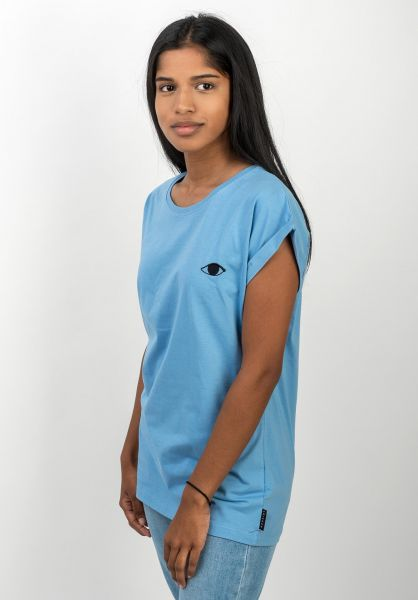 Ezekiel T-Shirts Providence dustyblue vorderansicht 0398628