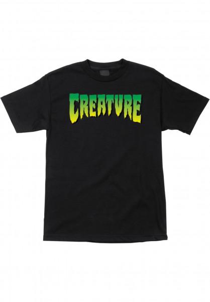 Creature T-Shirts Logo black Vorderansicht