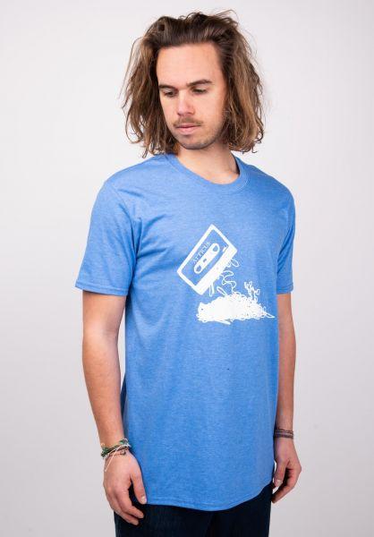 Atticus T-Shirts Hometaping heatherroyal vorderansicht 0379245