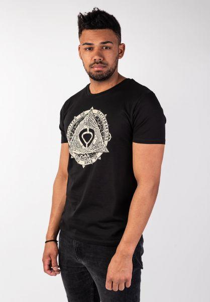 C1RCA T-Shirts Pyramid black vorderansicht 0399767