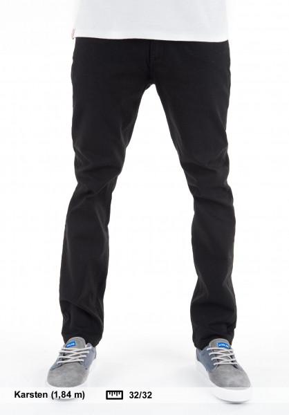 TITUS Jeans Taper Fit black-black Vorderansicht