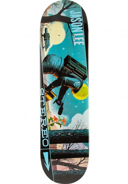 Stereo Skateboard Decks Soundspace Lee multicolored Vorderansicht