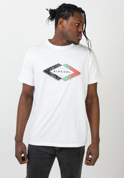 Rip Curl T-Shirts Quoted opticalwhite vorderansicht 0321547