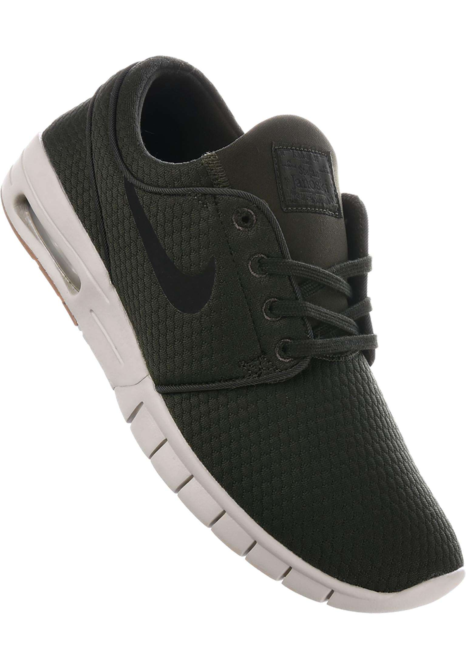 Stefan Janoski Max Nike SB All Shoes in sequoia-black-gum for Men ... c1a3308b7