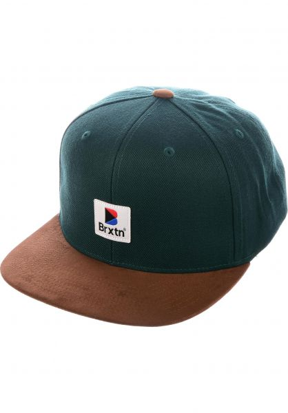 7d77651f discount code for brixton caps stowell snapback pine brown vorderansicht  0565985 a8c2a 57295