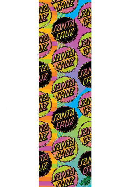 Santa-Cruz Griptape Santa Cruz Afterglow MultiDot multicolored vorderansicht 0142475