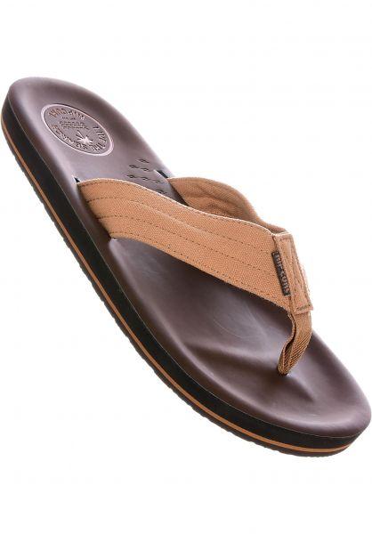 Rip Curl Sandalen OG6 tan-brown vorderansicht 0620281