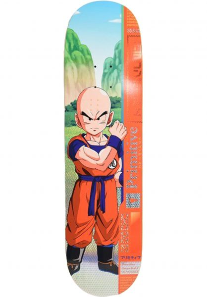 Primitive Skateboards Skateboard Decks Team Krillin multicolor vorderansicht 0261465