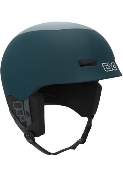 TSG Snowboardhelme Konik Solid Color gloss-blue-grey Vorderansicht
