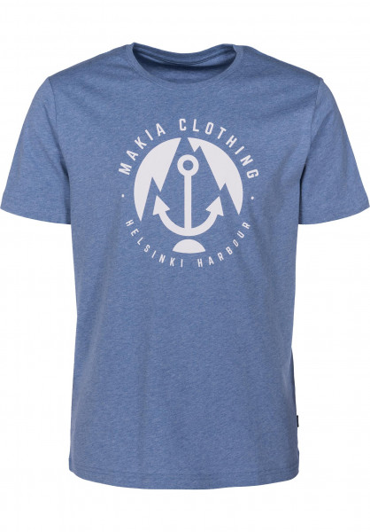 Makia T-Shirts Harbour Captain Vorderansicht