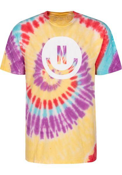 Neff T-Shirts Smiley Wash multi vorderansicht 0399420
