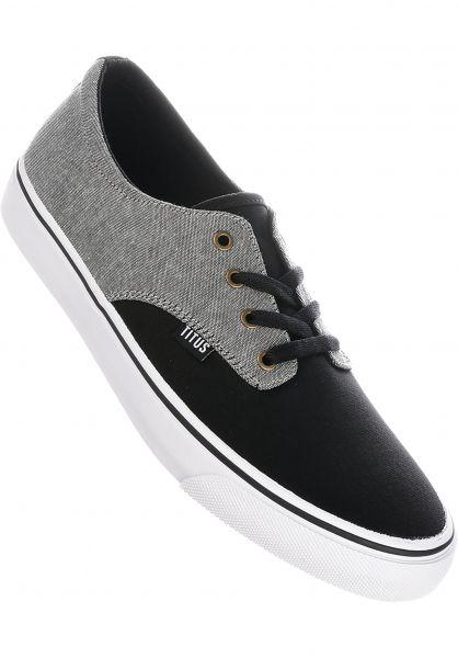 TITUS Alle Schuhe Clubman chambray-darkgrey-black-white vorderansicht 0604300