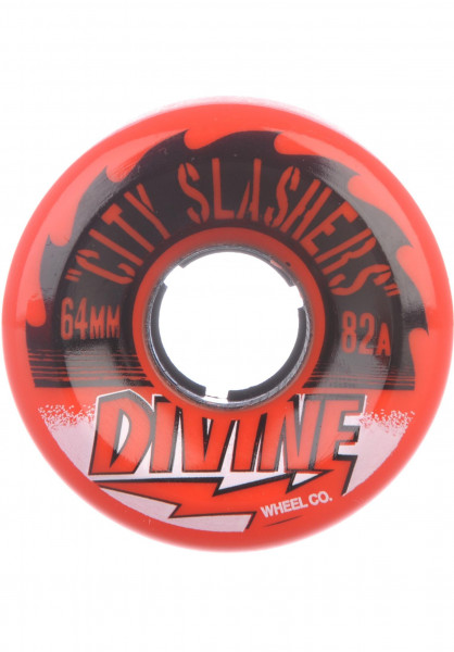 Divine Rollen City Slasher 82A red Vorderansicht