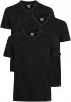 Dickies T-Shirts V-Neck-T-Shirt-Pack-(3 Stück) black Vorderansicht