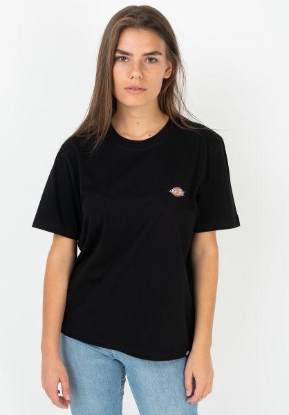 Dickies T-Shirts Stockdale black vorderansicht 0397541