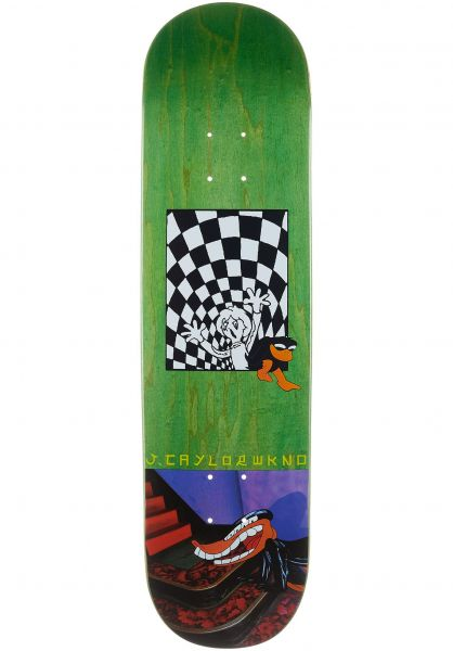 WKND Skateboard Decks Taylor Welcome To Earth green vorderansicht 0262818