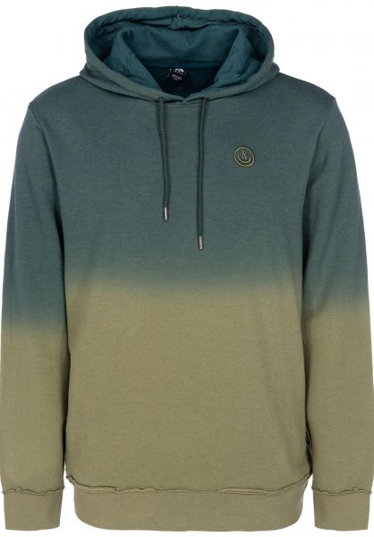 Neff Hoodies Throwback forest-olive vorderansicht 0445150