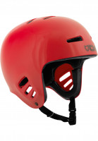 TSG Helme Dawn Solid Color red Vorderansicht