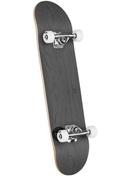 Mini-Logo Skateboard komplett ML Chevron Stamp - Shape 243 dyed grey vorderansicht 0162204
