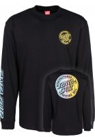 Santa-Cruz Longsleeves MFG Dot Fade black Vorderansicht 0382872